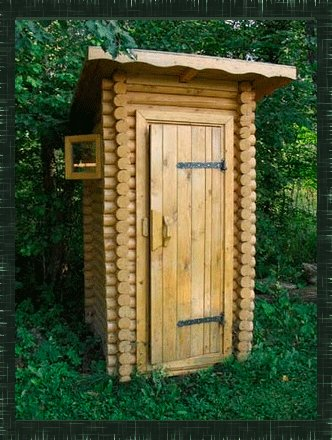 Как построить дачный туалет самому